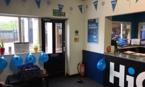 HiQ Ilkeston celebrating HiQs 25th birthday 2018- reception area