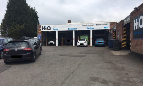 HiQ Ilkeston outside centre