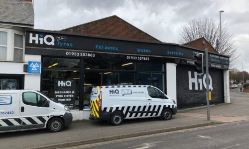 HiQ Rushden outside centre