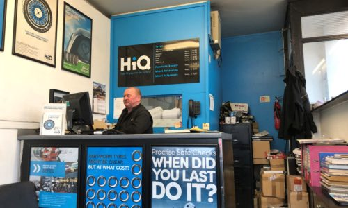 HiQ West Wickham assistant manager George at reception