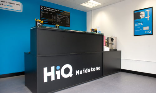 HiQ Maidstone reception