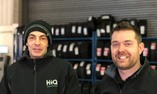 HiQ Maidstone team - Luke and Jason