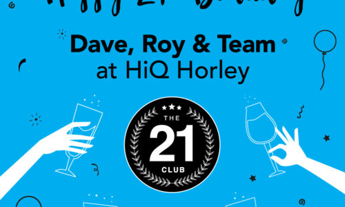 HiQ Horley celebrate 21 years in business 2018