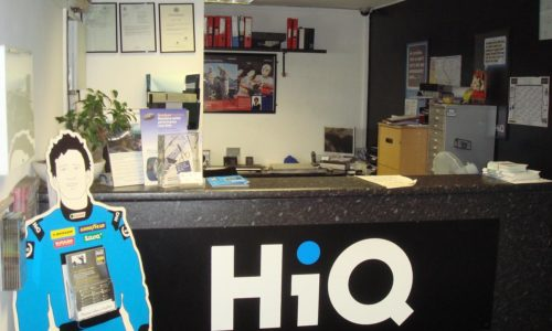 HiQ East Ham reception area