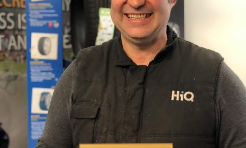HiQ Truro (Steve Liley) win Gold Standard award 2018