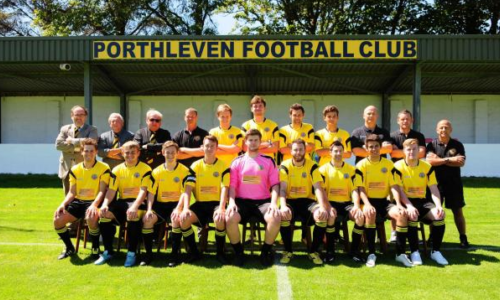 HiQ Truro proud supporters of Porthleven football club