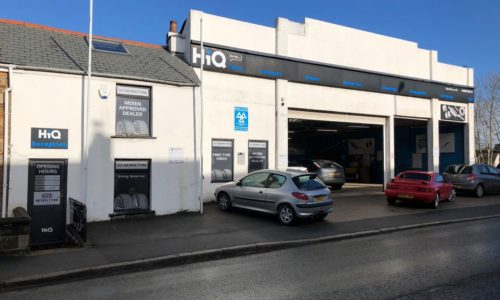 HiQ Bodmin from the outside