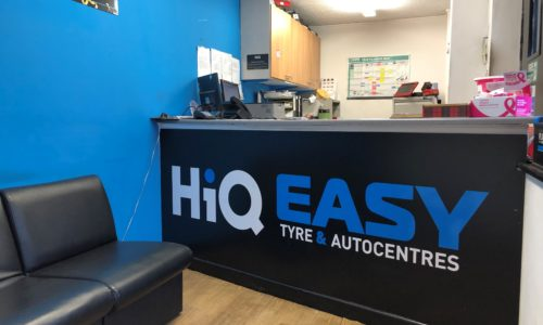 HiQ Nuneaton reception