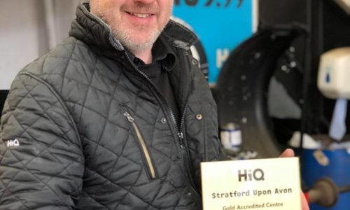 HiQ Stratford-upon-Avon receives Gold Standard Award 2018