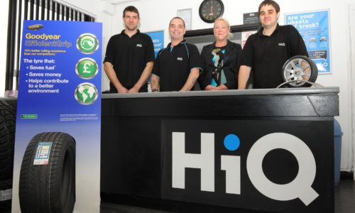 The HiQ Kettering team