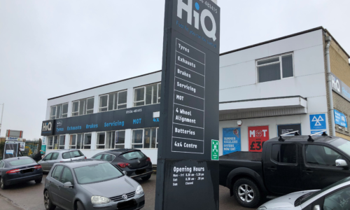 HiQ Kettering outside centre