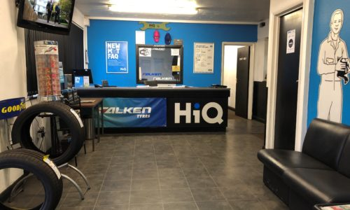 HiQ Kettering reception area