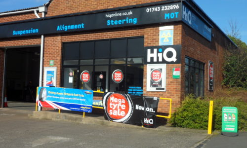 HiQ Shrewsbury entrance