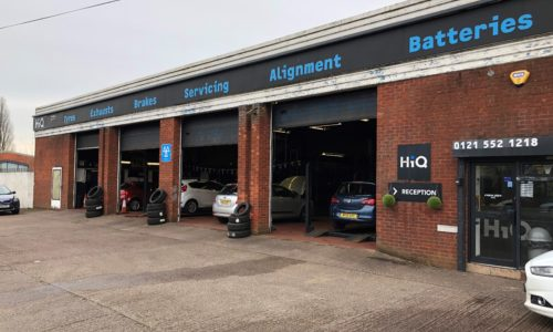 HiQ Oldbury fitting bays