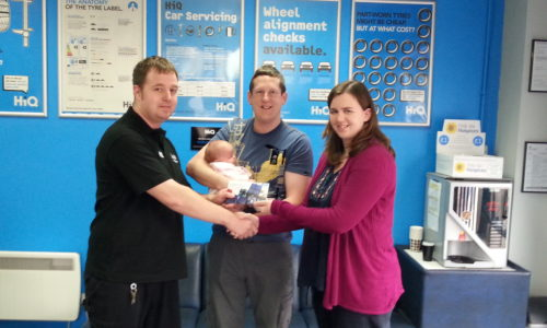 HiQ Hull - Mr Christmas Winner of April's feedback draw