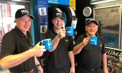 HiQ Plymouth- Bob Saunders and the team