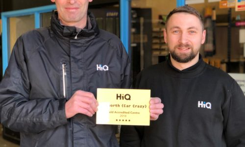 HiQ Tamworth (Car Crazy) Gold Standard Award 2018