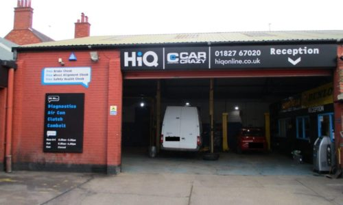 HiQ Tamworth Car Crazy outside centre