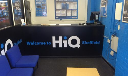 HiQ Sheffield reception