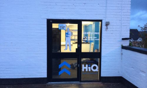 HiQ Sheffield Front Door