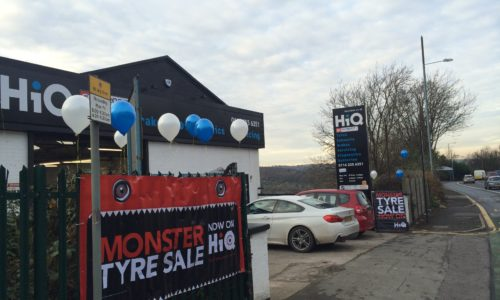 HiQ Sheffield Monster tyre sale