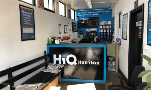HiQ Honiton reception area