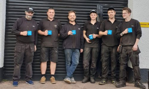 HiQ Honiton team picture - Julian, Paul, Marty, Dave, Matt, Kody.