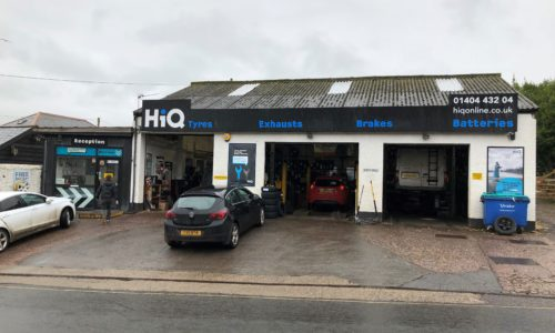 HiQ Honiton outside centre