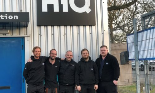HiQ Medway team picture- Lee, Tim, Adam, Justin & Jake