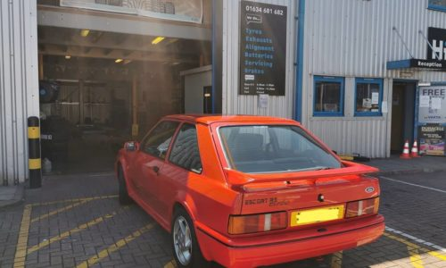 Ford Cosworth HiQ Tyres & Autocare Medway