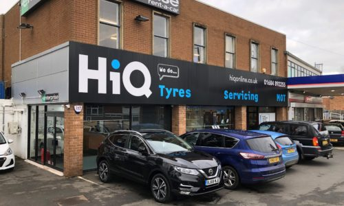 HiQ Malvern outside centre