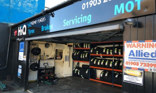 HiQ Worthing Tyres in stock in a range of sizes and brands, from budget to premium.