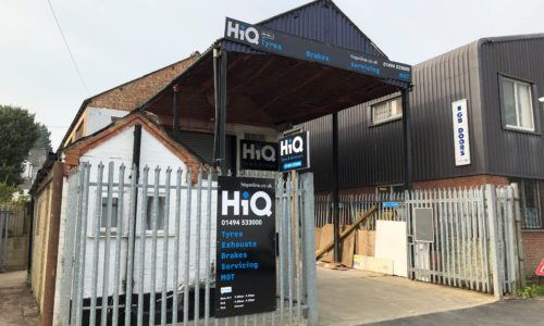 HiQ High Wycombe outside centre