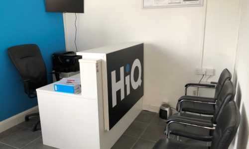 HiQ High Wycombe reception
