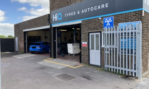 Hi Q Tyres Autocare Colchester loading bays blocked
