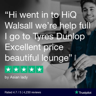Hi Q Tyres Autocare Walsall customer review on Trustpilot