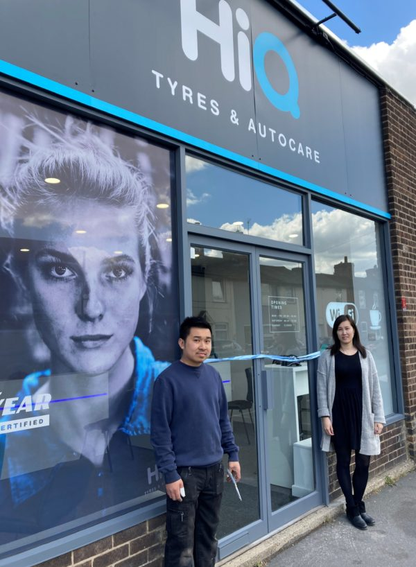 Hi Q Tyres Autocare Colchester grand ribbon opening 2
