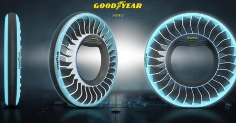 GOODYEAR UNVEILS ITS NEW CONCEPT TYRE FOR AUTONOMOUS, FLYING CARS- THE GOODYEAR AERO