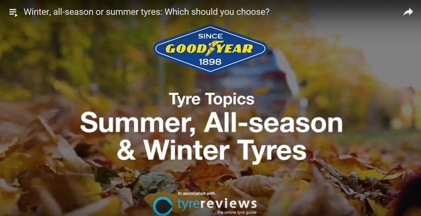 Winter allseason or summer tyres which should you choose 1