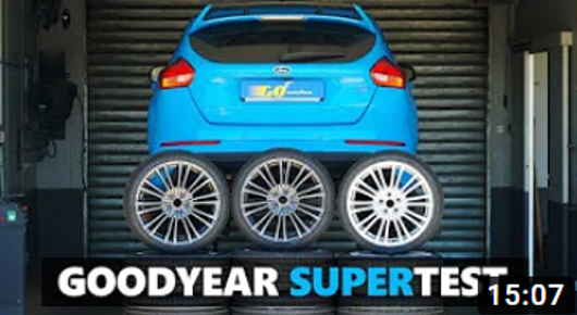 Goodyear top summer tyres
