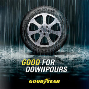 Goodyear good for donwpours