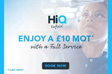 £10 MOT with a full service