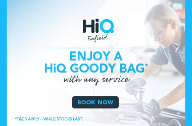 Get a HiQ Goody Bag with any Service