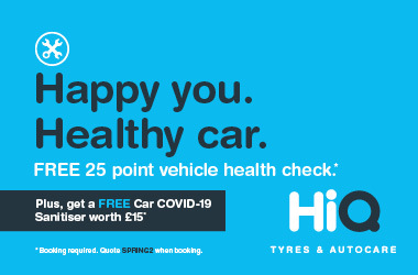 Free 25 point vehicle health check.