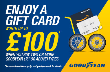 Goodyear Spring 2021 Promotion.