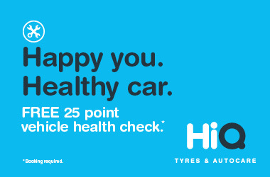 Free 25 point vehicle health check