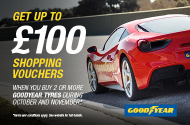 Goodyear Autumn Shopping Promotion