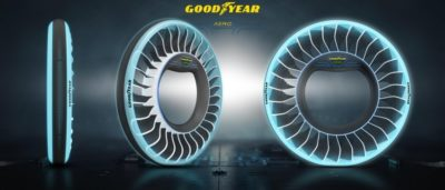Goodyear unveils its new concept tyre for autonomous flying cars the goodyear aero